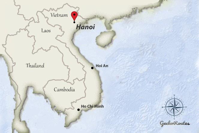 Ha Noi Vietnam Map.Shuttle Bus Or Taxi From Hanoi Airport Noi Bai Geckoroutes Com