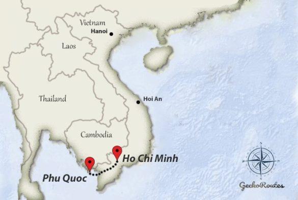 Ho Chi Minh to Phu Quoc