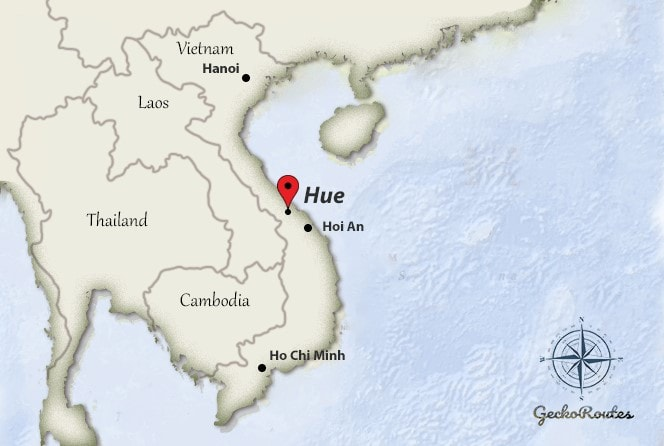Hue route - Vietnam