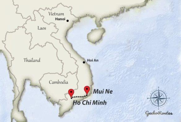 Ho Chi Minh to Mui Ne