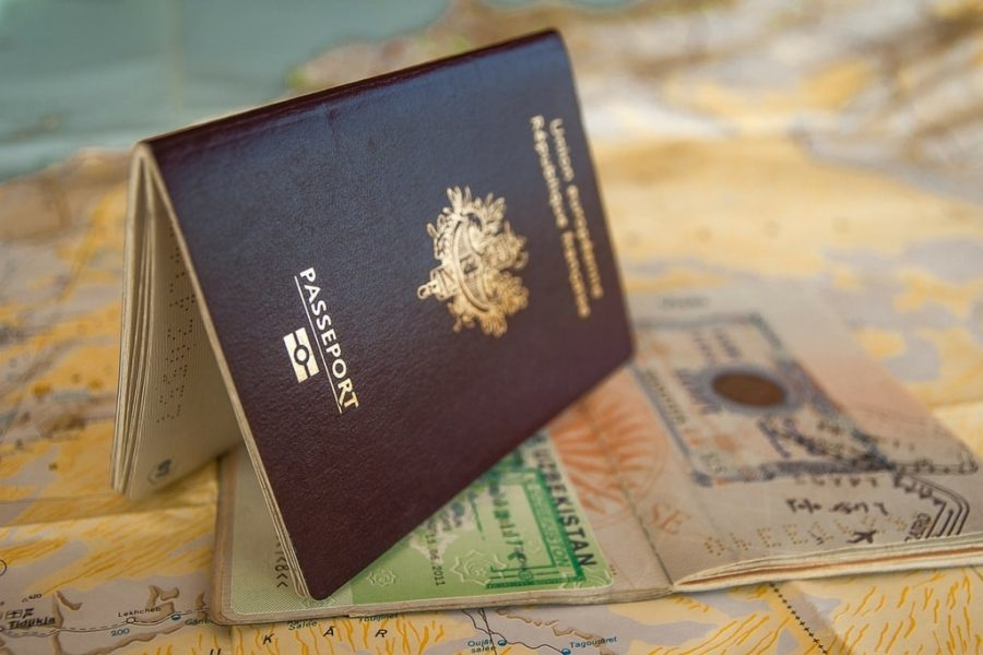 Passport for Visa Vietnam