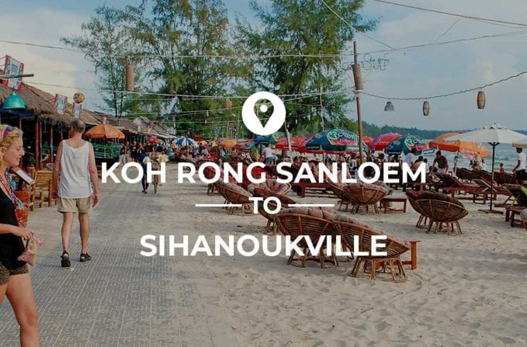 Koh Rong Sanloem to Sihanoukville cover image