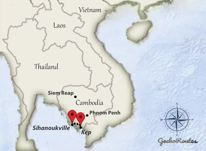 Kep - Sihanoukville