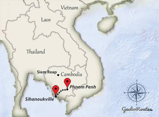Phnom Penh - Sihanoukville