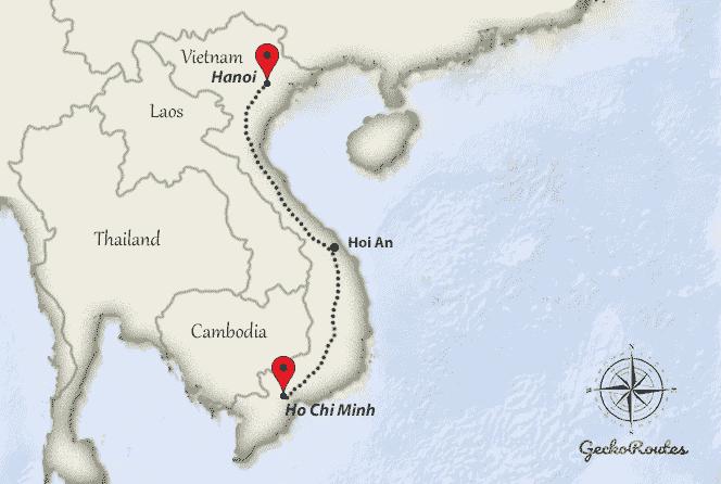From Ho Chi Minh to Hanoi