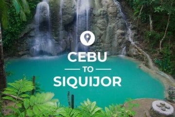 Cebu to Siquijor cover image