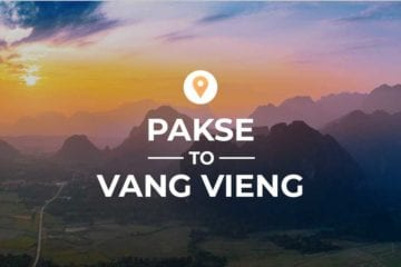 Pakse to Vang Vieng cover image