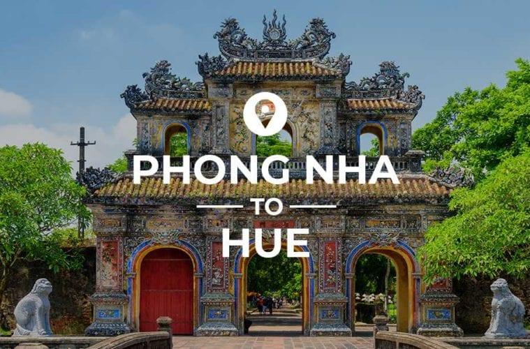 Phong Nha to Hue cover image