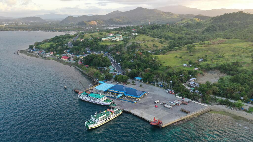 Ferry port in Surigao