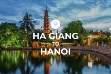 Ha Giang to Hanoi cover image