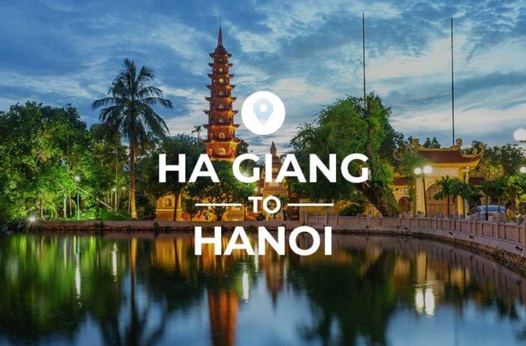 Ha Giang to Hanoi cover image
