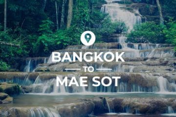 Bangkok to Mae Sot cover image