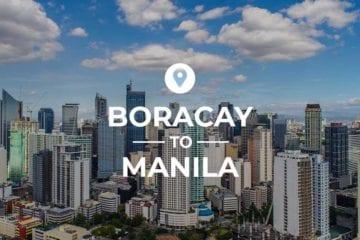 Boracay to Manila cover image