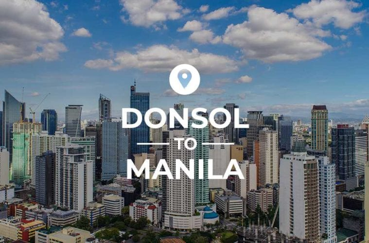 Donsol to Manila cover image