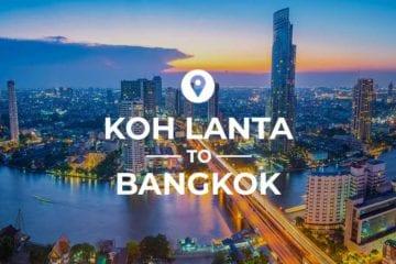Koh Lanta to Bangkok cover image