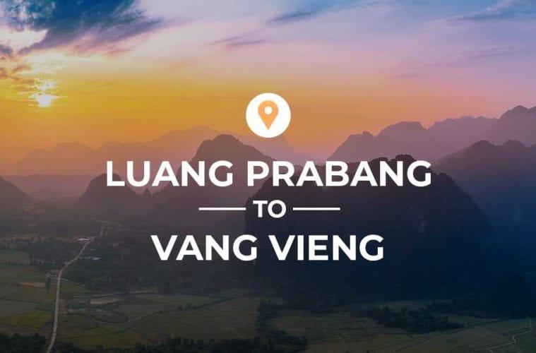 Luang Prabang to Vang Vieng cover image