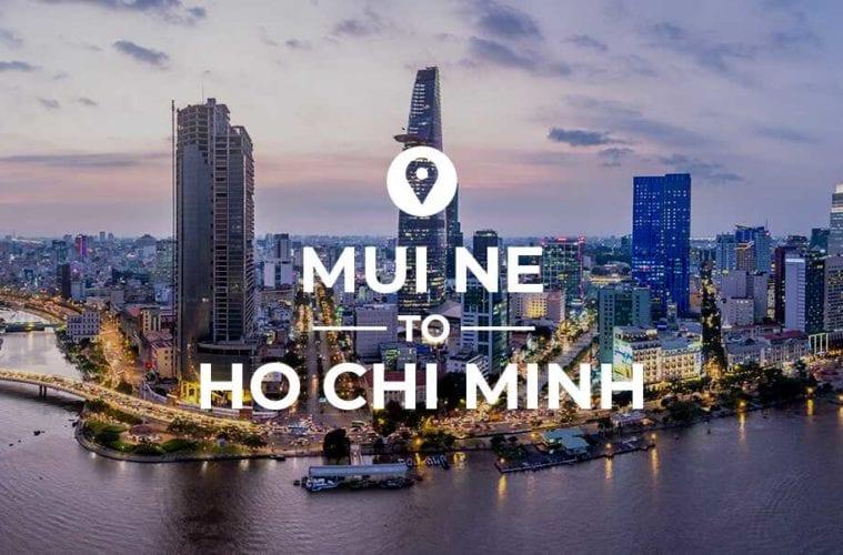 Mui Ne to Ho Chi Minh cover image