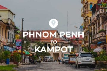 Phnom Penh to Kampot cover image