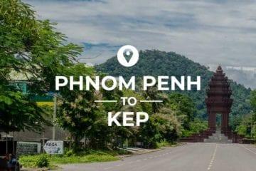 Phnom Penh to Kep image