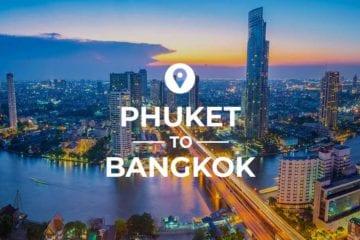 Phuket to Bangkok cover image