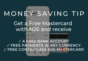 Travel Tip N26 Mastercard