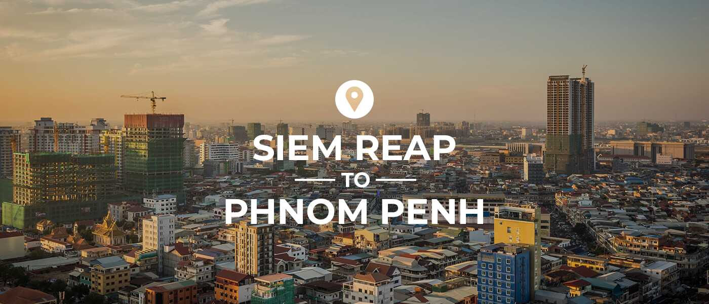how to get from phnom penh airport to siem reap