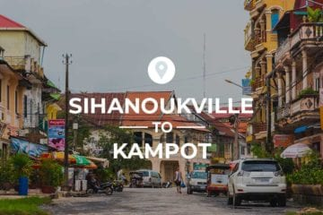 Sihanoukville to Kampot cover image