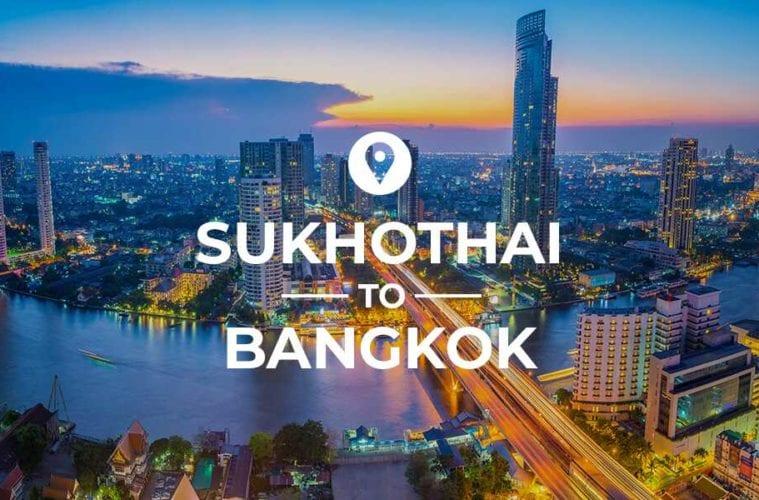 Sukhothai to Bangkok cover image