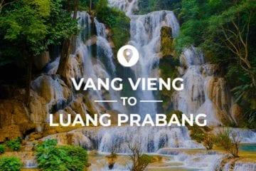 Vang Vieng to Luang Prabang cover image