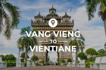 Vang Vieng to Vientiane cover image