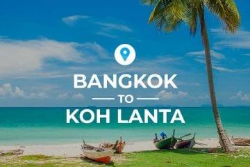 Bangkok to Koh Lanta cover image