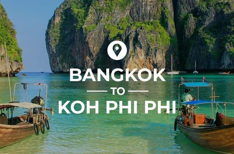 Bangkok to Koh Phi Phi cover image
