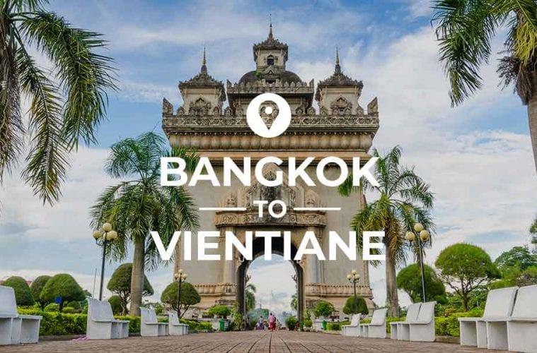 Bangkok to Vientiane coverimage