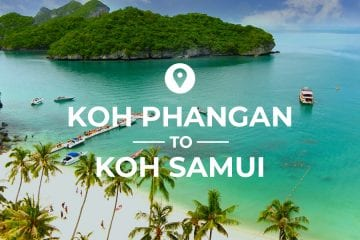 Koh Phangan to Koh Samui cover image