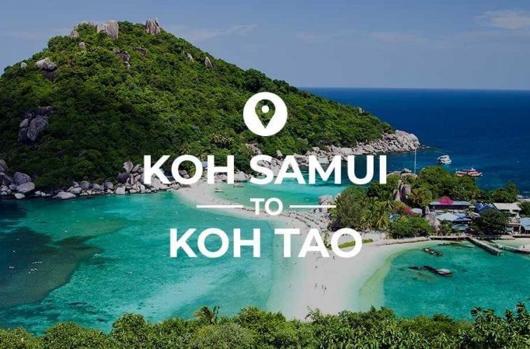 Koh Samui to Koh Tao cover image
