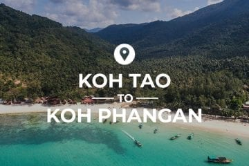 Koh Tao to Koh Phangan cover image