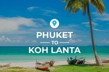 Phuket to Koh Lanta cover image