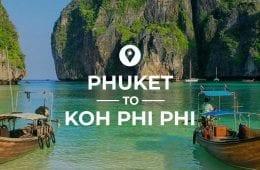Phuket to Koh Phi Phi cover image