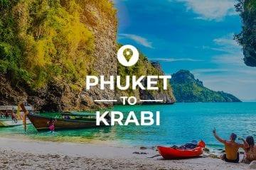 Puket to Krabi cover image