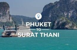 Phuket to Surat Thani cover image