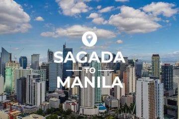Sagada to Manila cover image