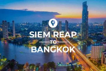 Siem Reap to Bangkok cover image
