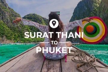Surat Thani to Phuket cover image