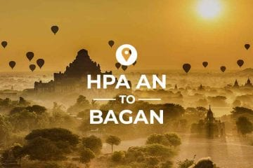 Hpa An to Bagan coverimage
