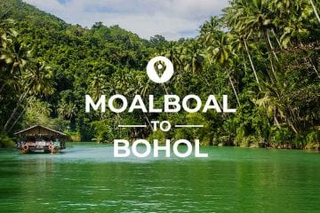 Moalboal to Bohol coverimage