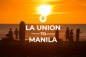 La Union to Manila bus route