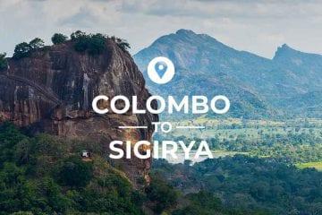 Kandy to Sigiriya route
