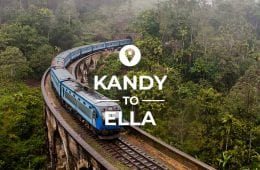 Kandy to Ella route