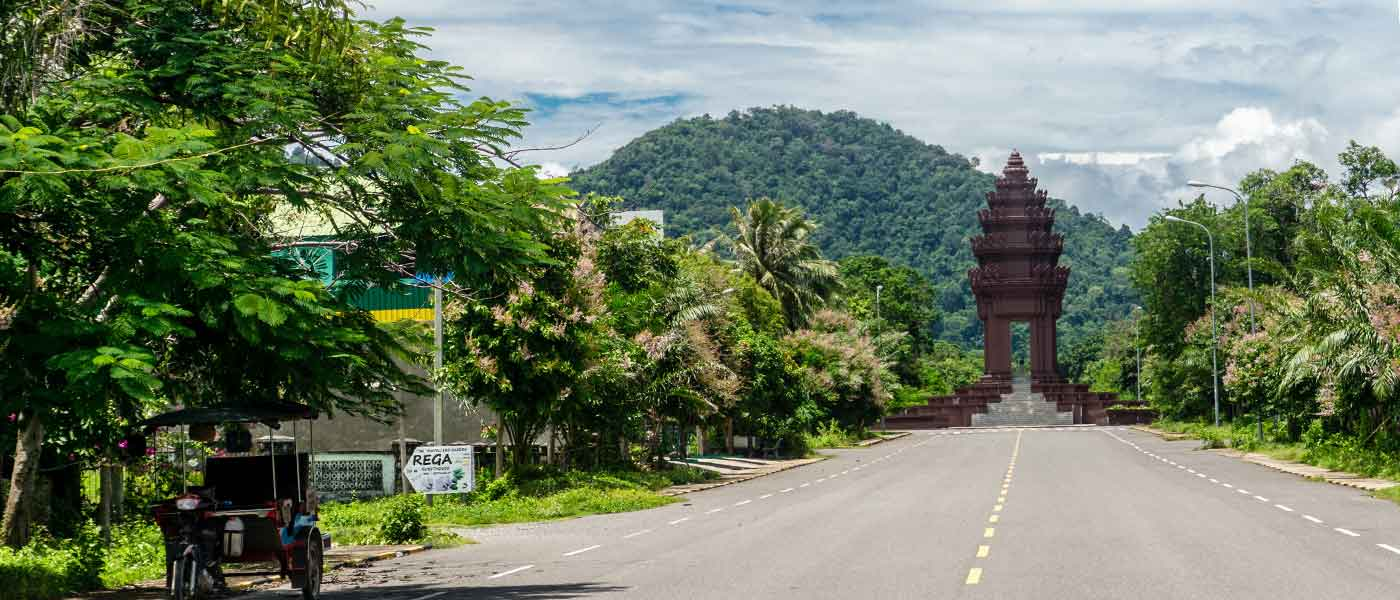 Road to Kep