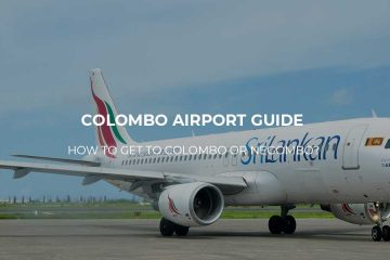 Colombo-Airport how to get to the city center